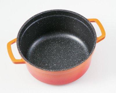 画像3: gioia ラウンドキャセロール 16cm オレンジ