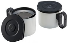 画像4: m.design オイルポットmini0.8L ホワイト (4)
