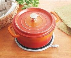 画像2: 耐熱オーブンミット 鍋敷き21cm (2)