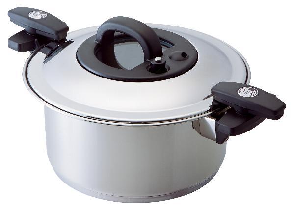 画像1: Velona 調圧鍋 24cm (1)