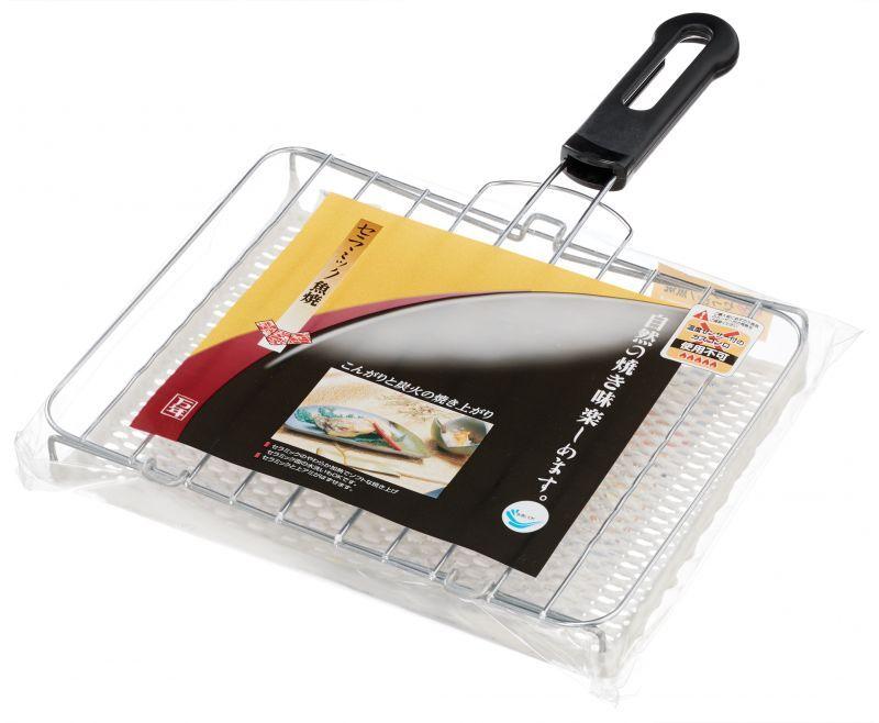 画像1: セラミック魚焼  (1)