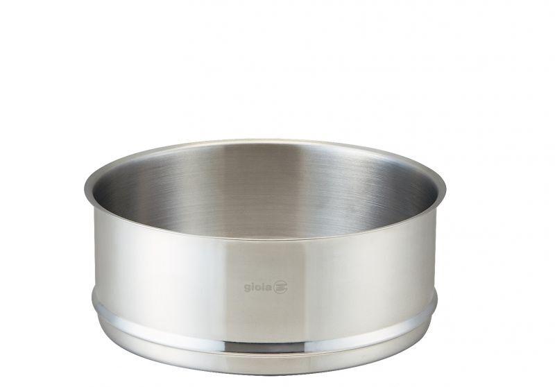 画像1: gioia スチーマー蒸し器 24cm (1)